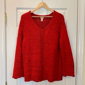 Chico's Bell Sleeve Sweater